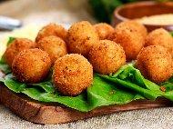 Рецепта Паниран кашкавал с панировка Орли (бешамел)